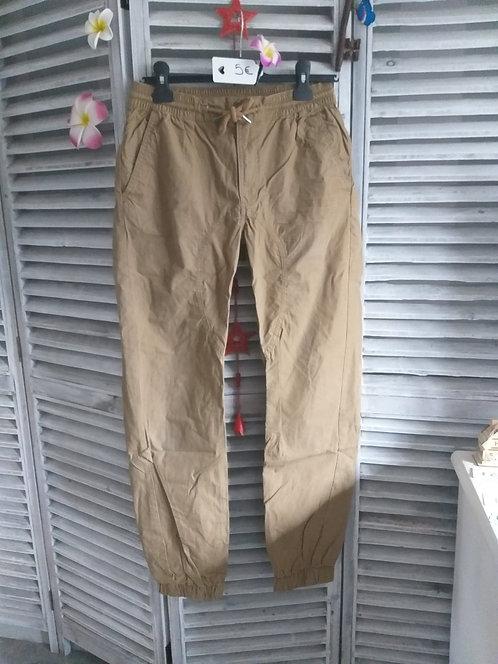 Pantalon en toile de taille S