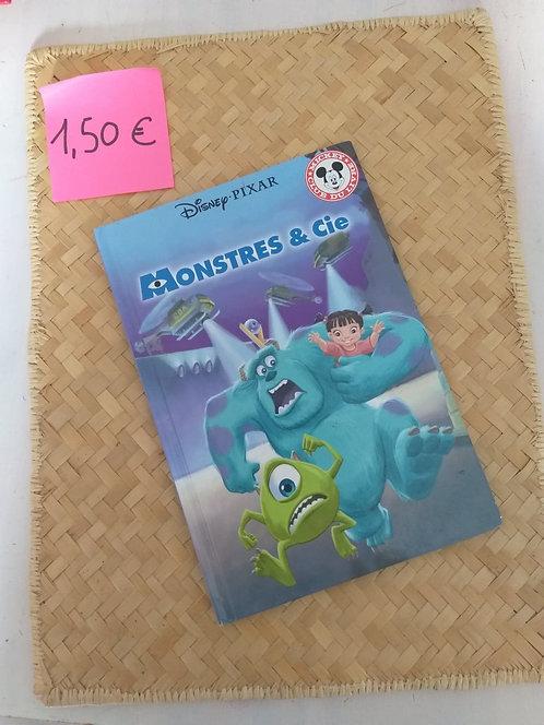Monstre & Cie Disney Pixar