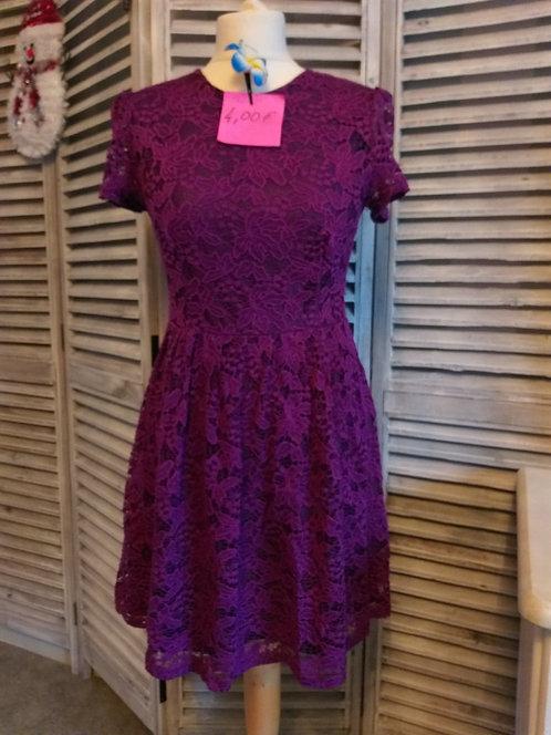 Robe violette Taille L