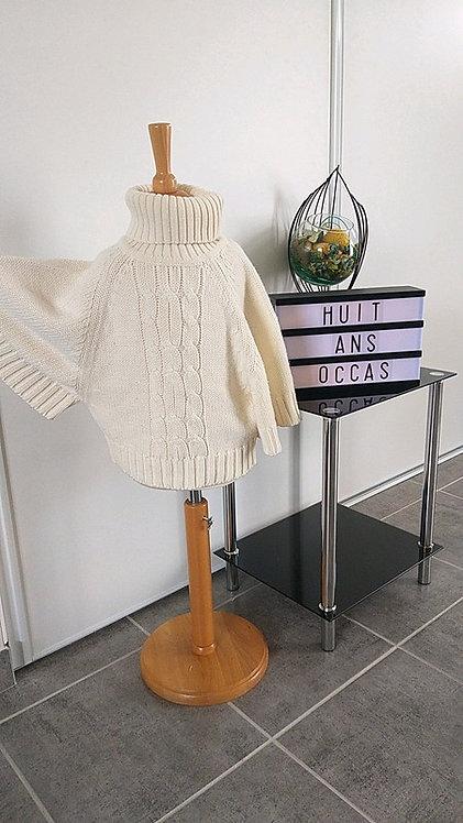 Pull en laine cape 8 ans