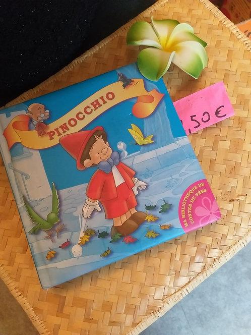 "Livre Cartonné 'PINOCCHIO"""