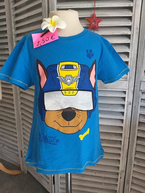 Tee shirt Pat Patrouille 6 ans
