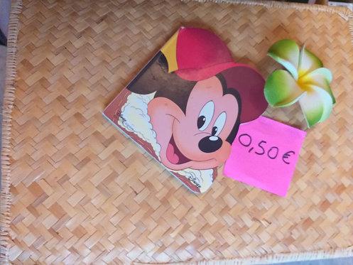 """Livre Cartonné """"Mickey"""""""