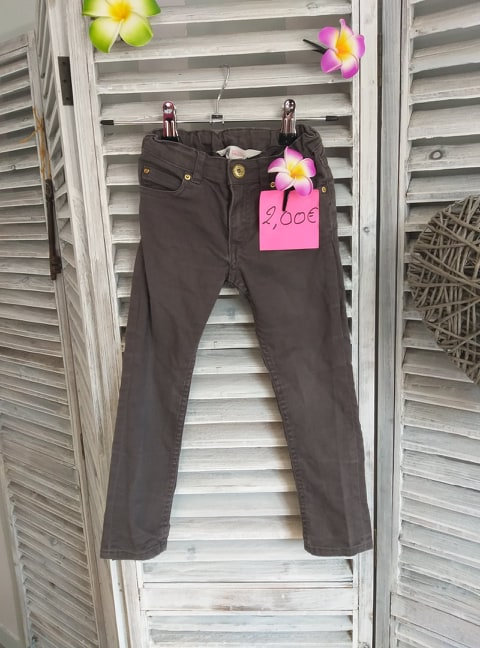 Jeans taupe 3/4 ans H&M