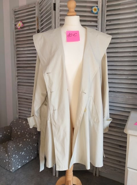 """Trench Coat """"Galerie Lafayette"""" T38"""