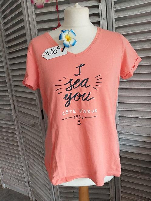 Tee shirt de nuit T42/44