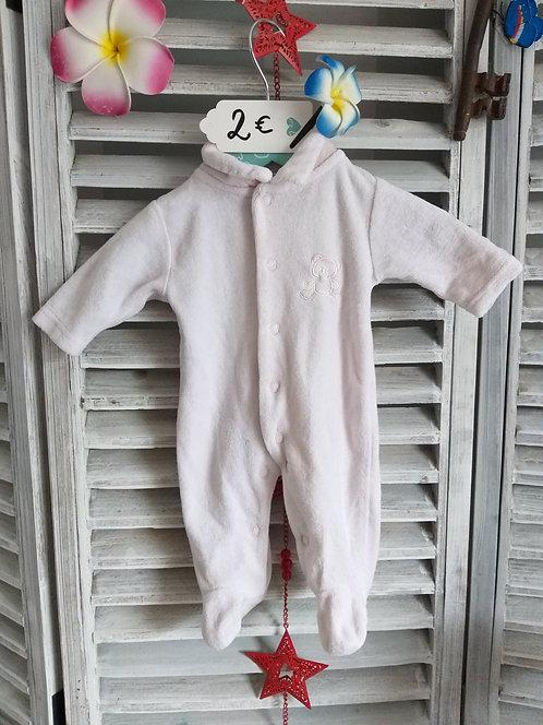 Pyjama de naissance Rose