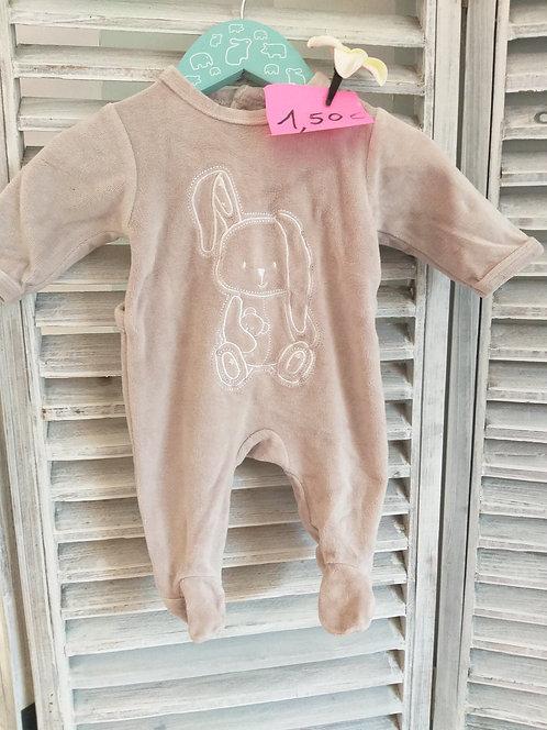 Pyjama Unisexe 1 mois