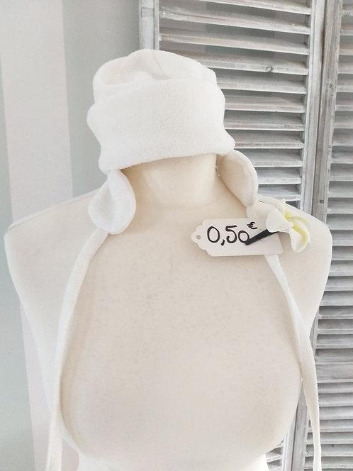 Bonnet blanc 12/18 mois