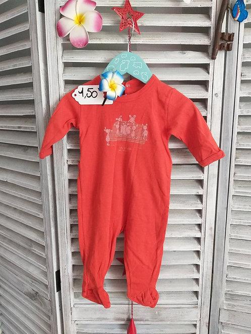 Pyjama fin petit bateau 3 mois