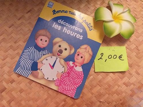 Livre Cartonné Les heures