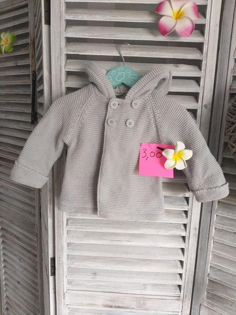 Gilet trés epais en laine Cocoon 6 mois