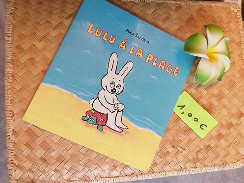 "Livre ""Lulu à la plage"""