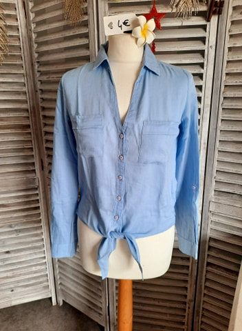 Chemise bleu clair T34
