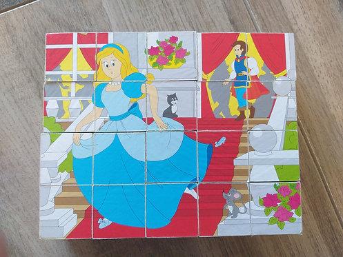 Puzzle en cube ×6 face