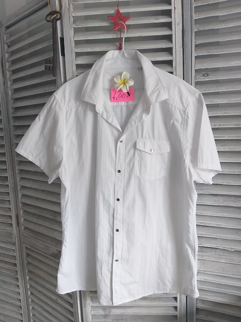 Chemise Blanche Taille XXL