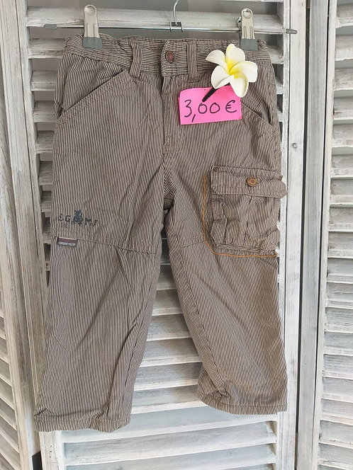Pantalon à rayure chaud 24 mois