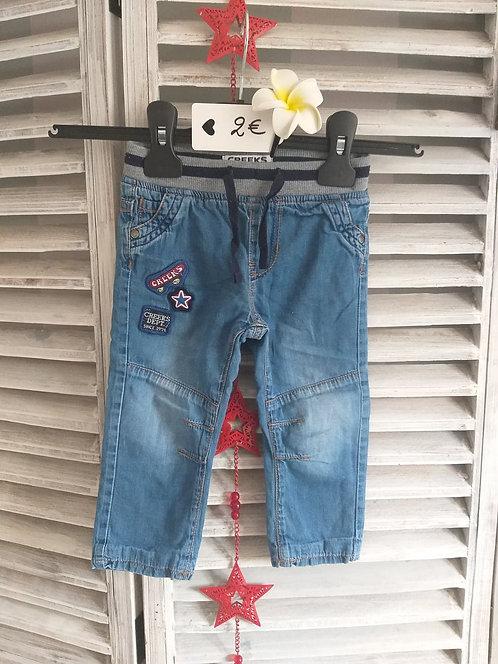 Jeans creeks 12 mois