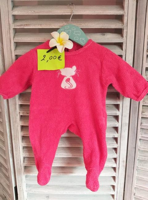 Pyjama en Eponge naissance