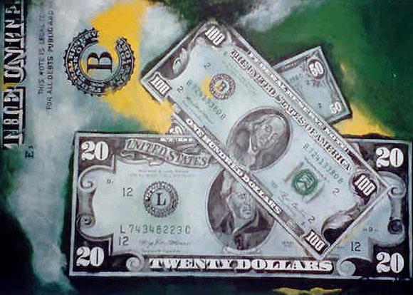 Dollarbild Franklin+Jackson