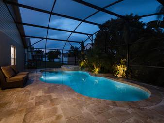 LED Real Estate Pool Photo