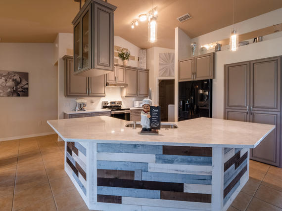 Beautiful Kitchen In Real Estate