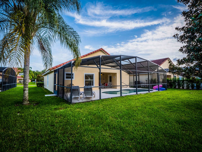 Back Porch HDR Real Estate Photo