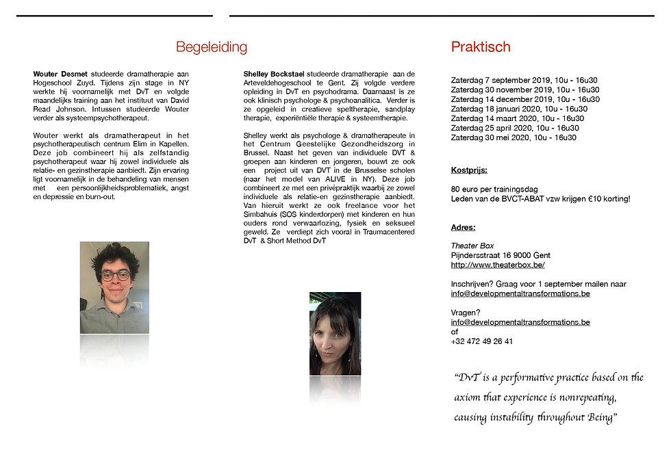 e-flyer dvt level 1 trainingsreeks 2019-
