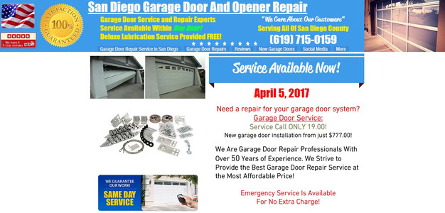 We provide immediate quality service everyday in San Diego!