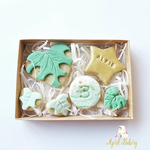 Jungle Iced Biscuit Gift Box