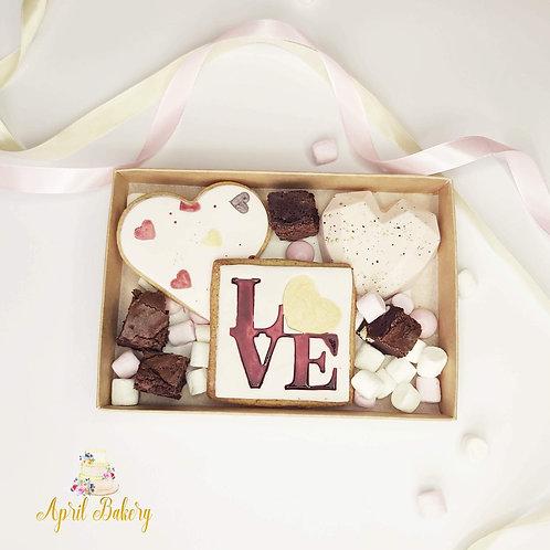 Postal Valentine's Gift Box