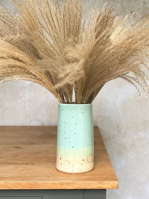 Speckled Beach Straight Vase
