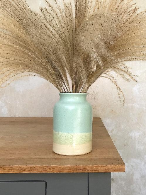 Non-Speckled Beach Bottle Vase