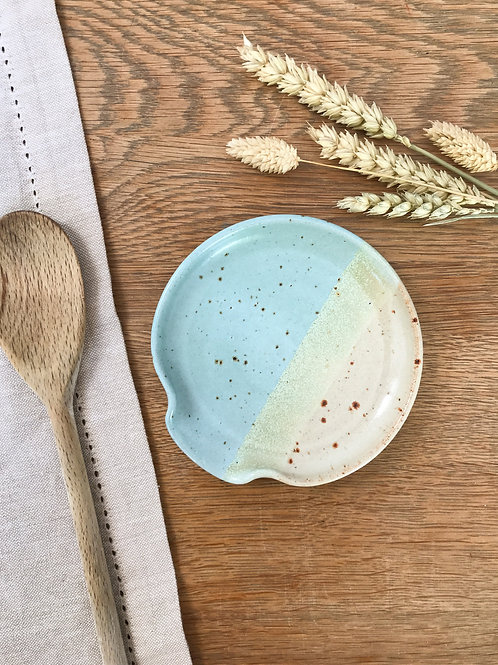 Speckled Beach Spoon Rest