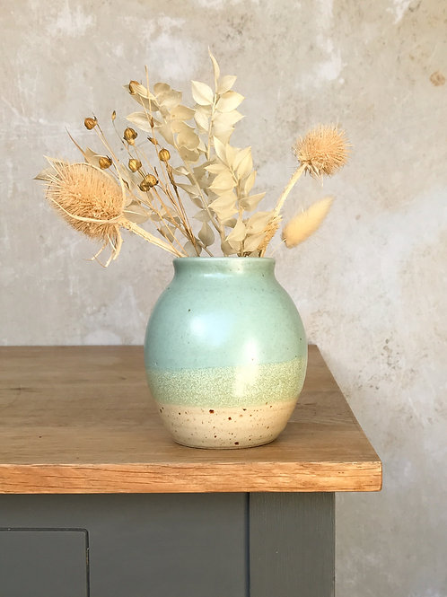 Speckled Beach Bud Vase