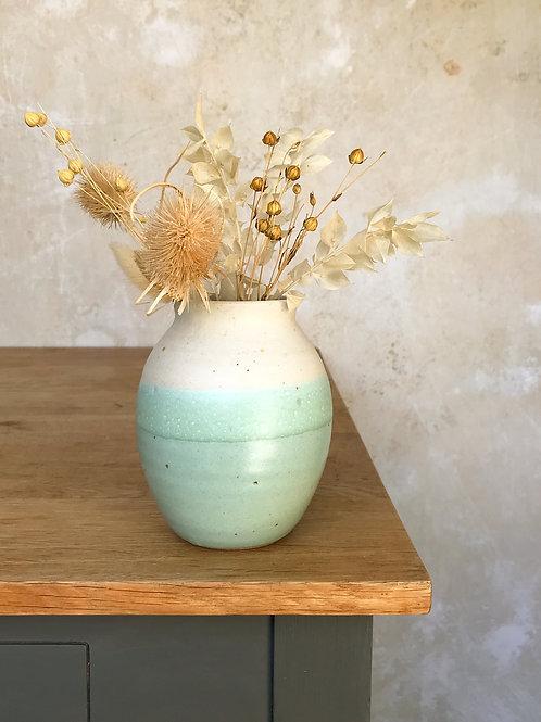 Calm Waters Bellied Vase