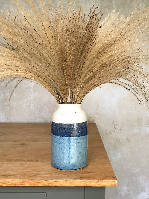 Sea Foam Bottle Vase
