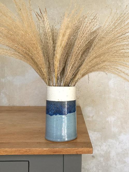 Sea Foam Straight Vase