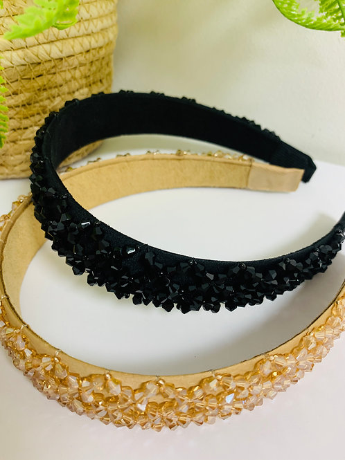GLITZY HEADBAND SET