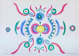 Flying Mandala