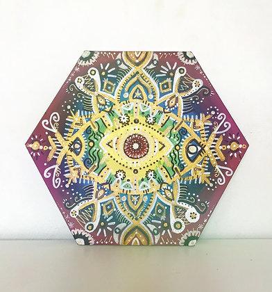 Ojo Mandala Hexágono
