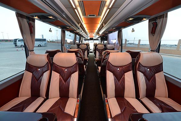 BUS SAPTCO VIP 25 Seater -FC ABU BAKR-