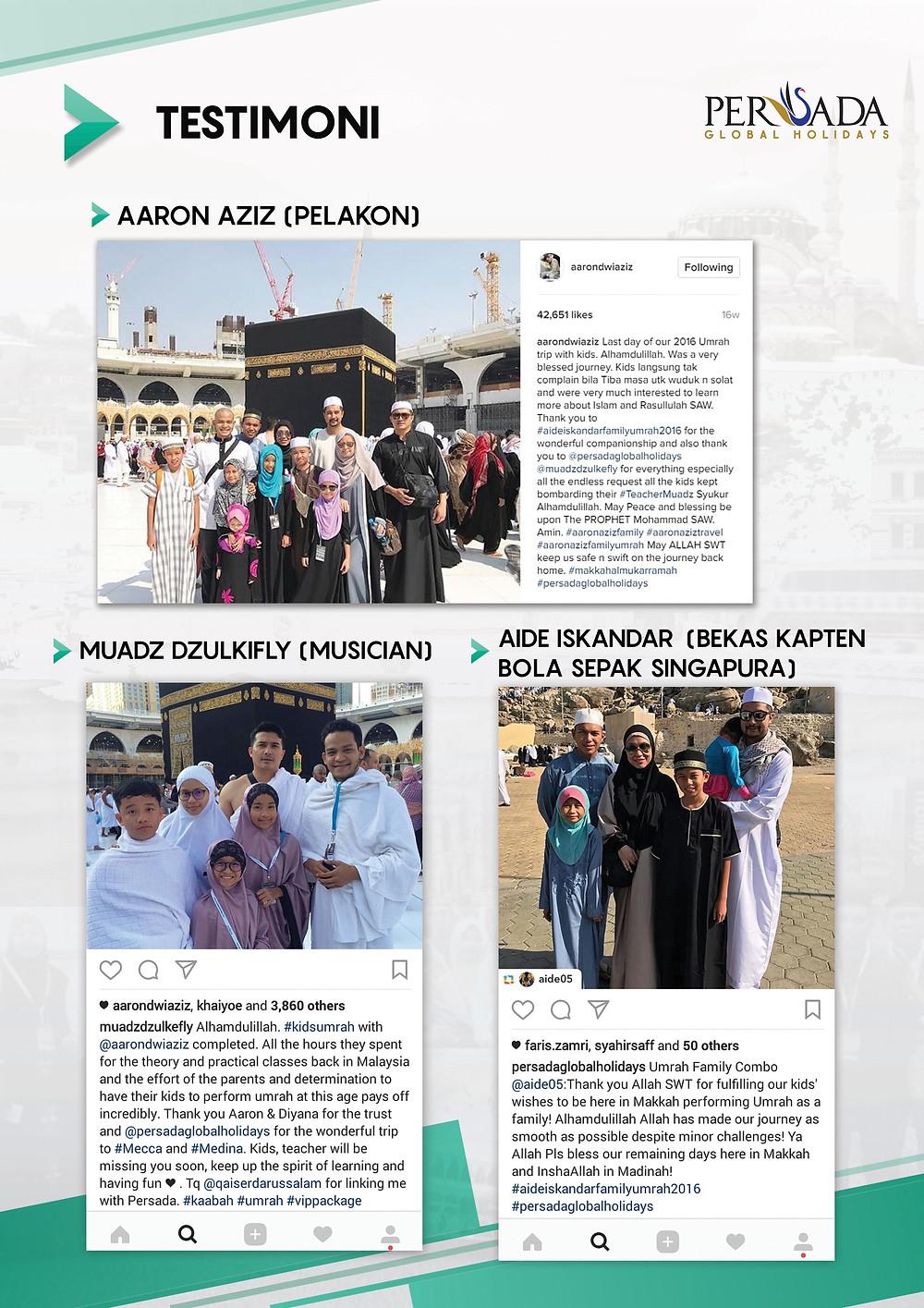 Pengalaman Umrah Family Combo Abu Bakr