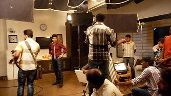 Bollywood film studio in Mumbai