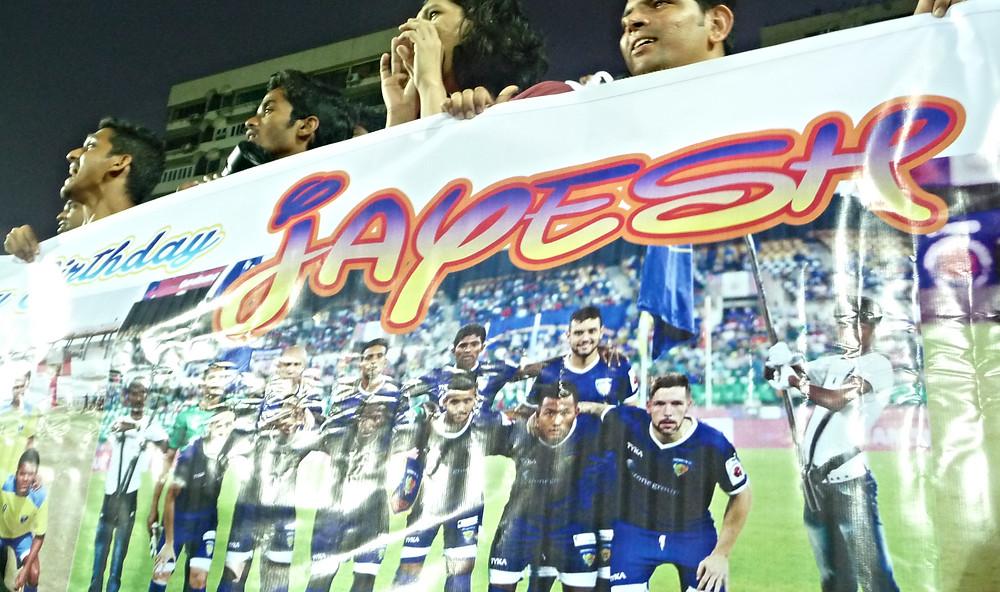 Mumbai FC supporters