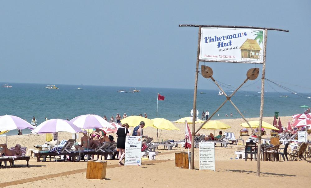 Goa Russian signboard 3