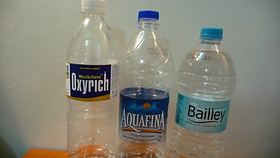 Mineral water price