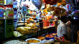 Local Market in Mumbai