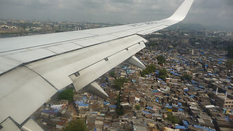 Dharavi Slum from sky