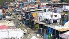 open air laundry in Mumbai